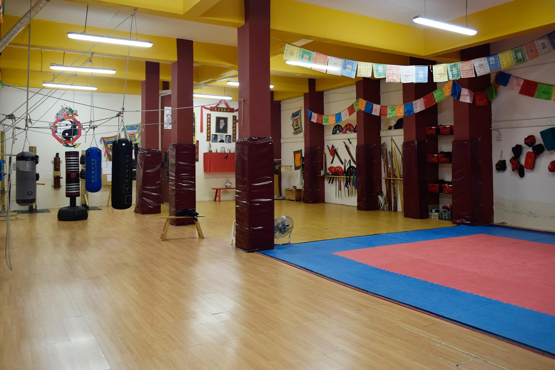 Vista general del Gimnasio de Kung Fu